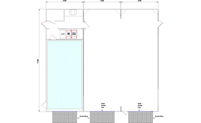 Smart shop layout drawing